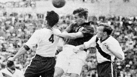 حقیقت جالب ورزشی -۱۹۵۰ فوتبال