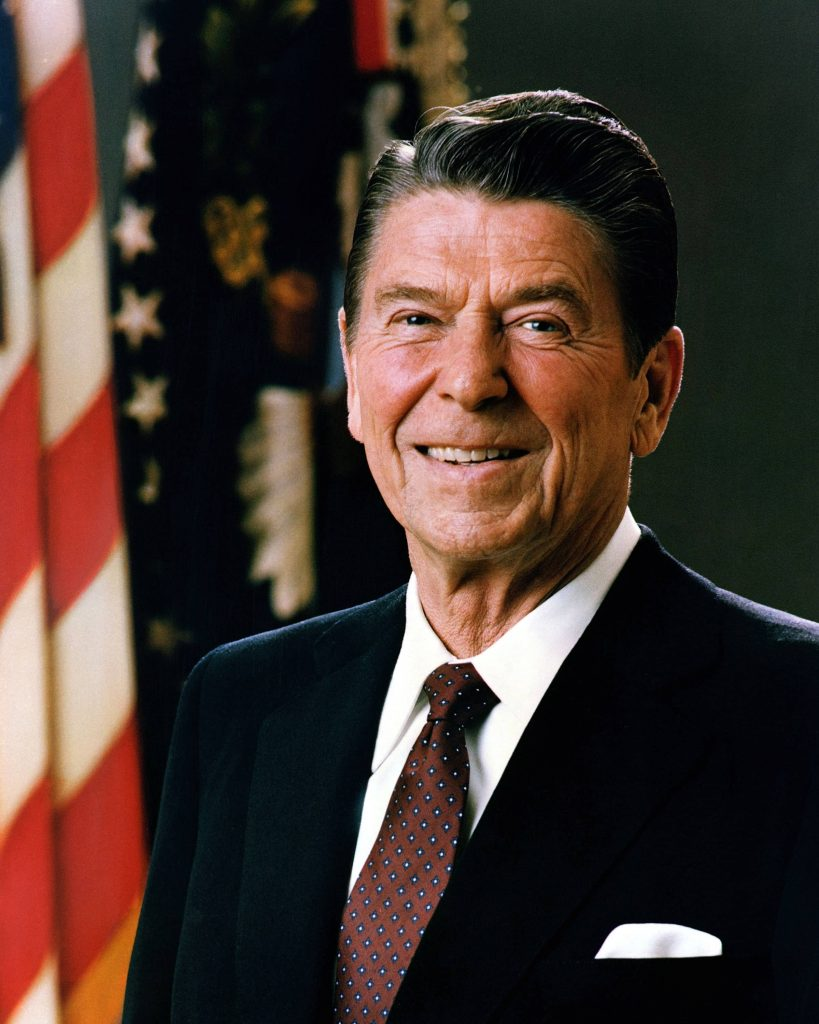 Official Portrait of President Reagan 19811