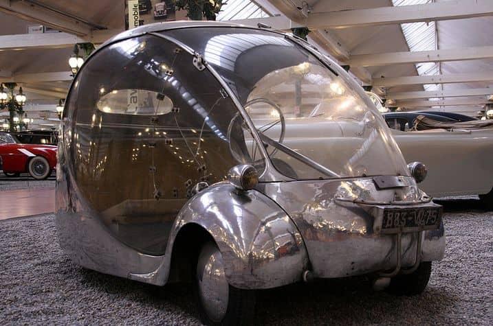 ۱۰ خودرو با طراحی عجیب