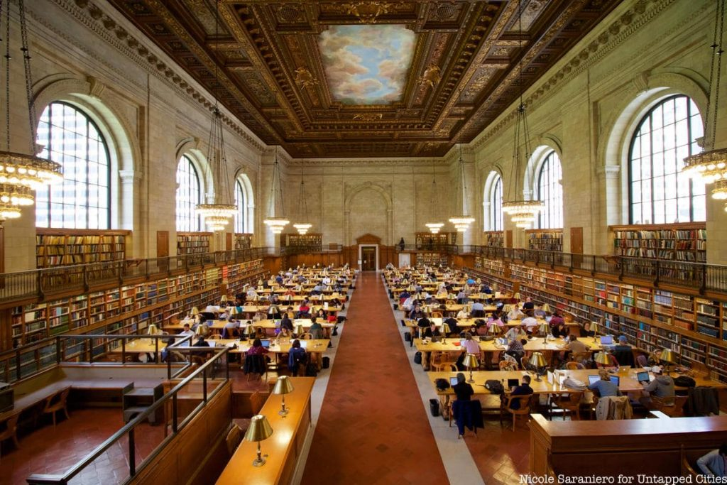۱۰ کتابخانه معروف جهان