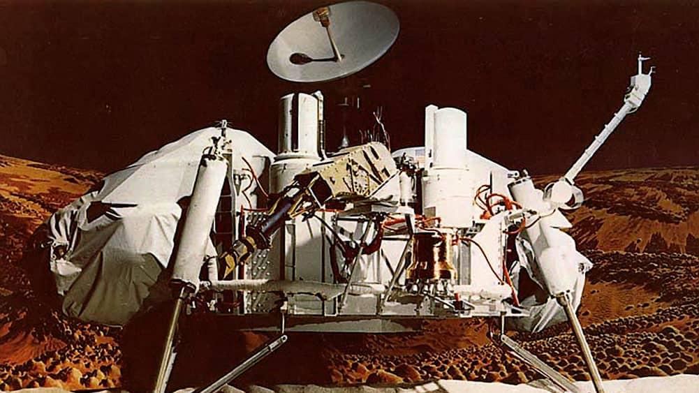 اولین فضاپیمایی که بر سطح مریخ نشست