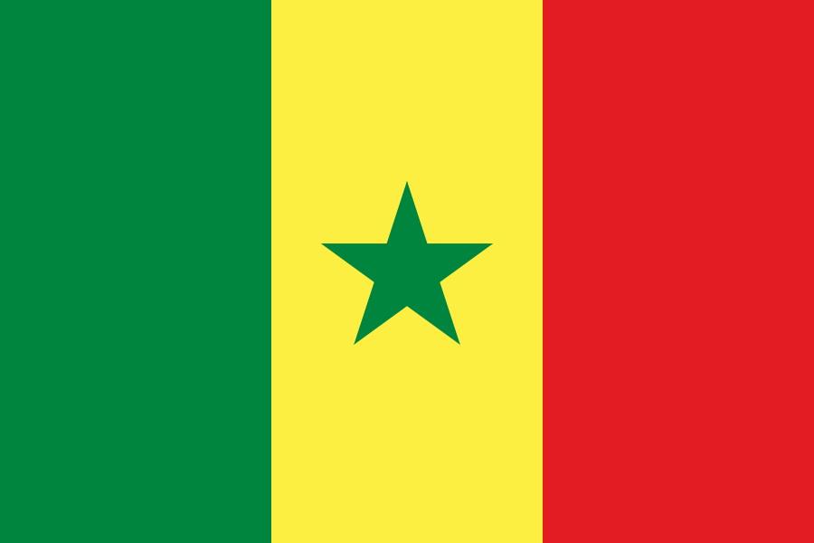 پرچم سنگال