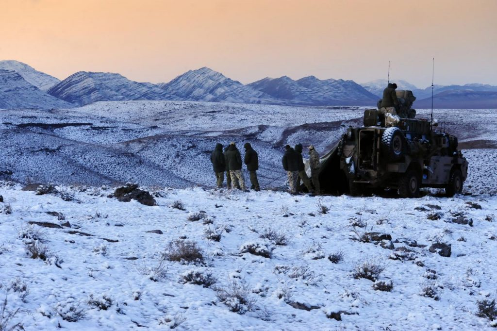 برف در افغانستان