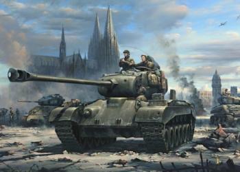 https cdn.cnn .com cnnnext dam assets 181107171032 02 ww2 us german vets painting tank